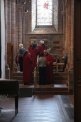 Orkneje - Kirkwall - katedrála Sv. Magnuse