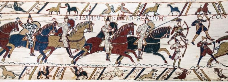 Středověká Anglie Viléma Dobyvatele a jeho následovníků