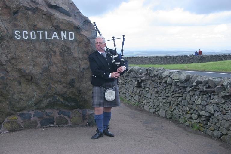 Skotsko s výukou